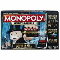 Monopoly Game: Ultimate Banking Edition Electronic Game Board