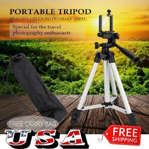 Universal Aluminum Portable Tripod Stand Camera W/ Bag Canon Nikon Olympus 663862253504
