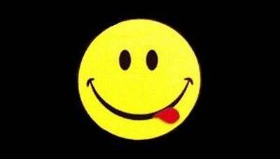 Acid Smiley Flag - 5' x 3'