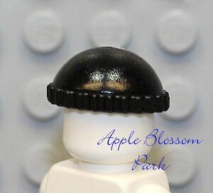 NEW Lego City Minifig BLACK KNIT CAP Thief Beanie Minifigure Pixie Hat Head Gear
