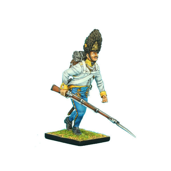 FIRST LEGION NAP0298 Austrian Hahn Grenadier Falling Wounded Painted Metal