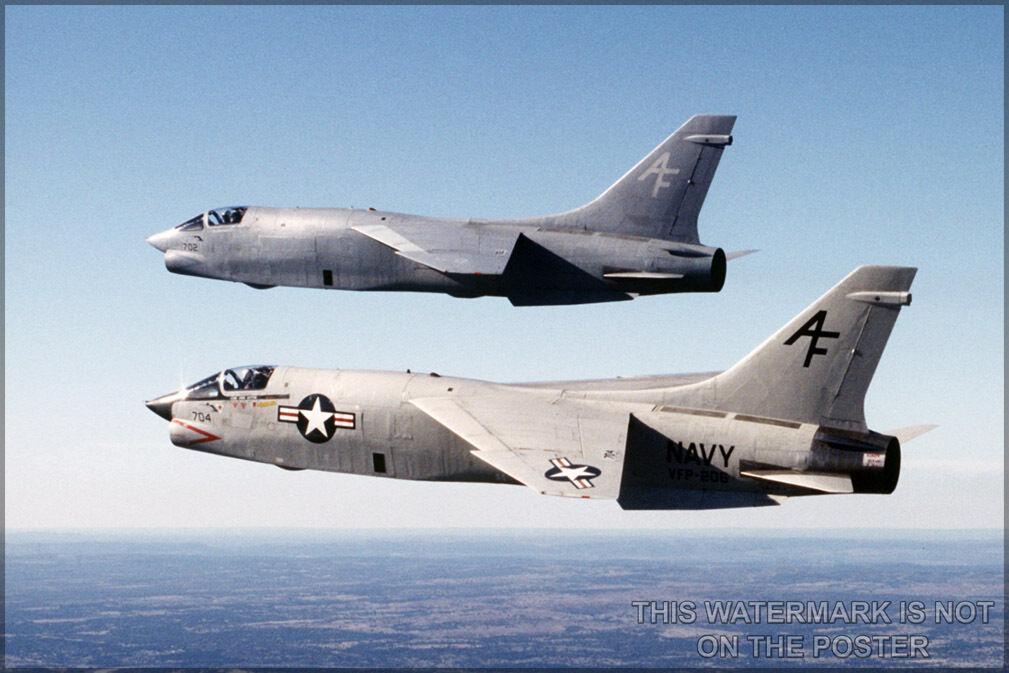 Poster, Many Größes; F-8 Crusader