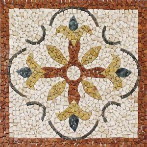 Rosoni-rosone-mosaico-in-marmo-su-rete-per-interni-esterni-66x66-MAJORCA-66-43
