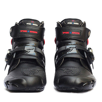 Men's Offroad Sport Motorcycle Waterproof MX GP Racing Leather Boots Moto Shoes