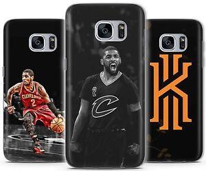 Dettagli su Kyrie Irving Cleveland basket copertura in gomma Case accoppiamenti Samsung Galaxy S A J- mostra il titolo originale