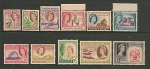 Southern-Rhodesia-1953-QEII-Selection-to-1-Superb-Mint-Never-Hinged