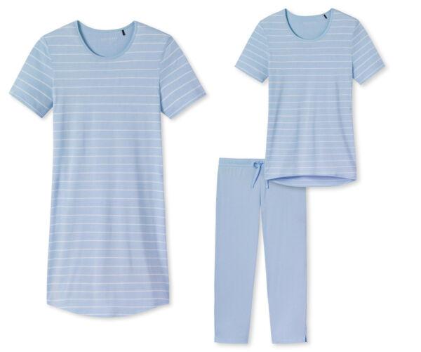 Schiesser  Damen Nachthemd  3/4 Anzug Schlafanzug Auswahl Gr.38-54 NEU