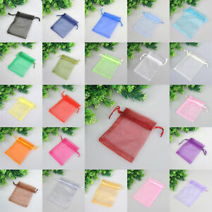100-Organza-Drawstring-Gift-Jewelry-Bags-Pouches-For-Wedding-Xmas-Party-Favour