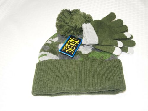 iXtreme Boy/'s Winter Knit Hat//Gloves Size 4 To 7