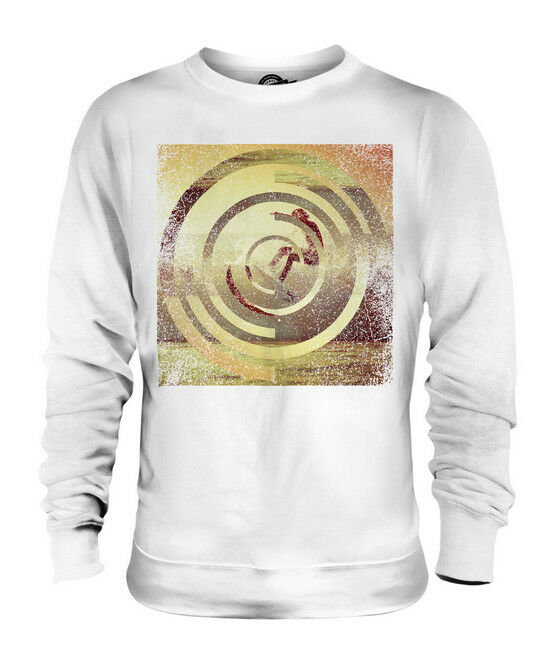 SURFER IN SUNSET UNISEX SWEATER  TOP GIFT SURFER PATTERN