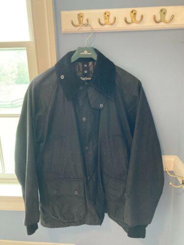 Barbour Bedale Wax Jacket Size 36 - Black