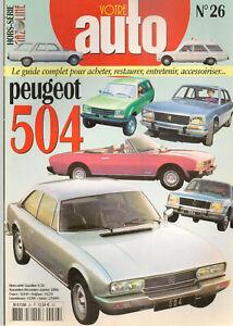 GAZOLINE-HS-26-PEUGEOT-504-BERLINE-PEUGEOT-504-COUPE-PEUGEOT-504-CABRIOLET-BREAK