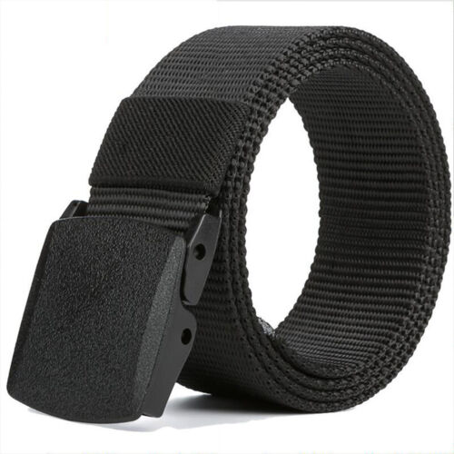 Quick-drying Automatic Buckle adjustable Man Belt Hunting Waistband Outdoot Belt