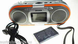 SPARE-BATTERY-ONLY-for-the-Degen-D23-Radio-Rechargeable-AM-FM-SW-MP3-Player