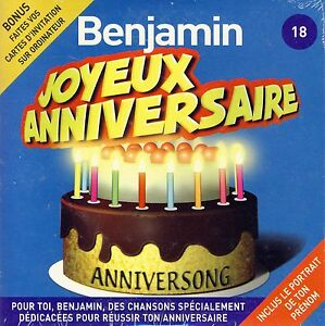 Joyeux Anniversaire Benjamin 10 Titres Ebay