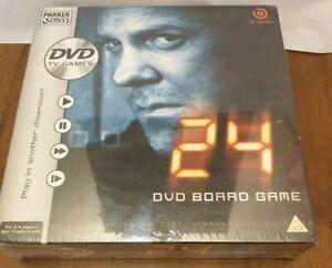 SEALED-24-DVD-BOARD-GAME-2006-PARKER-HASBRO-JACK-BAUER-TV-SHOW-Action-Thriller