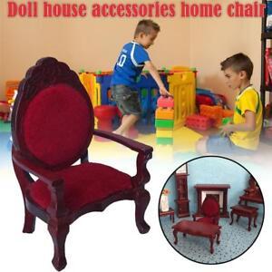 1PC-Retro-Mini-Dollhouse-Furniture-Carved-Chair-Miniature-Kids-Pretend-Play-Toy