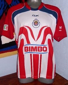 info for c669c ed09f Details about REEBOK CHIVAS GUADALAJARA MEXICO BOFO BAUTISTA 2006 ORIGINAL  SOCCER JERSEY SHIRT