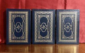 Easton Press Collector's edition Jules Verne 3 volume set Leather Bound Journey