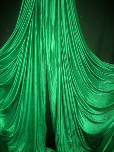 Aerial silks//Aerial yoga Fabric Sells by the yard Cut at Request Neon Yellow