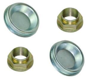 X2-REAR-HUB-NUTS-amp-DUST-CAPS-FITS-CITROEN-BERLINGO-XSARA-PICASSO-N68-XANTIA-X2