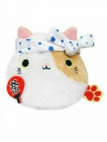 Sanei Neko Dango Japanese Summer Festival Cat Plush Doll Stuffed Toy 7cm