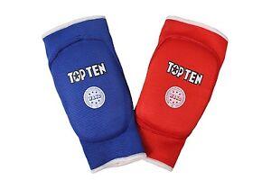 Top-Ten-Wende-Ellbogenschutz-TOP-TEN-034-WAKO-034-Kickboxen-Pointfighting-S-XL