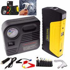 12V 68800mAh Portable Battery Jump Starter Air Compressor Car Booster Jumper US
