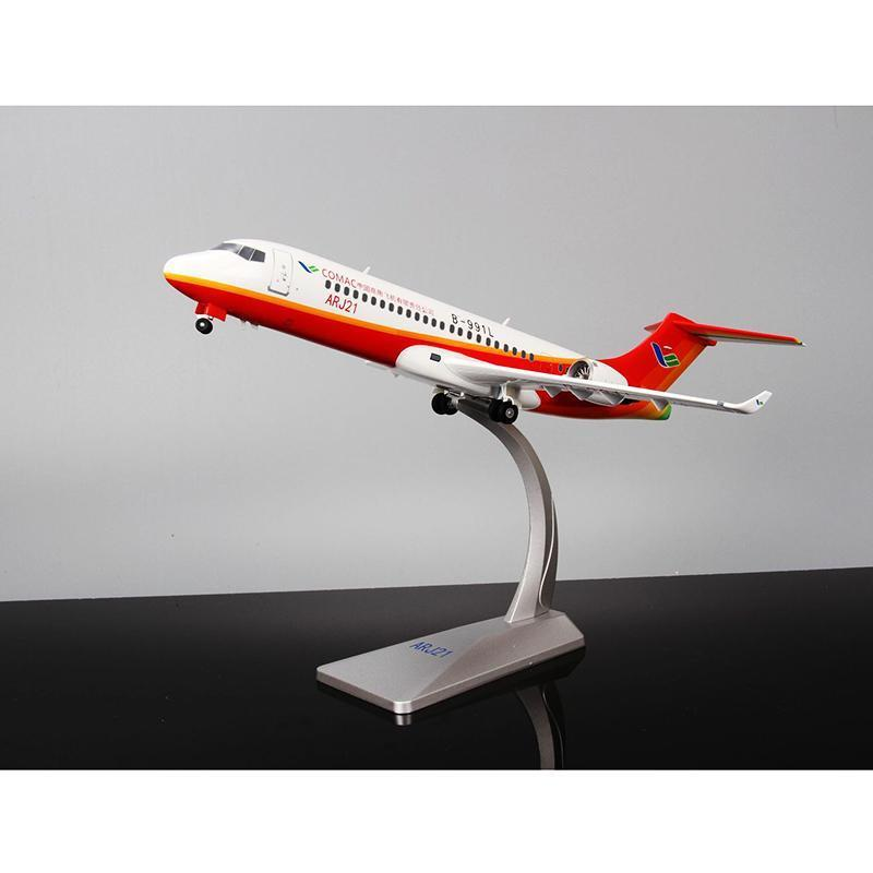 1 100 Scale Civil Aviation ARJ21 Airliner Aircraft Airplane Static Model Plane