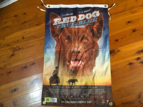 red dog movie Honda motor bike cavecave flag wall hanging signage shed Poster