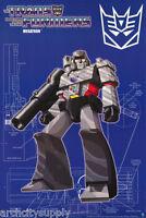 Poster: Tv: Transformers - Megatron - Free Shipping 24-087 Lw13 J
