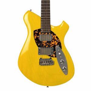 Pete Malinoski Guitars HiTop - Trans Yellow - Custom Boutique Hand-Made Electric