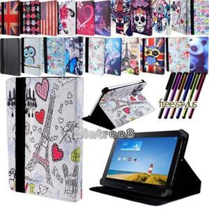 Per-vari-7-034-Huawei-MediaPad-Tablet-PELLE-SMART-STAND-COVER-Stylus