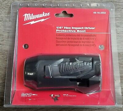 Milwaukee M12 Stubby Impact Wrench Boot//Cover for 2552-20 or 2553-20 #49-16-2553