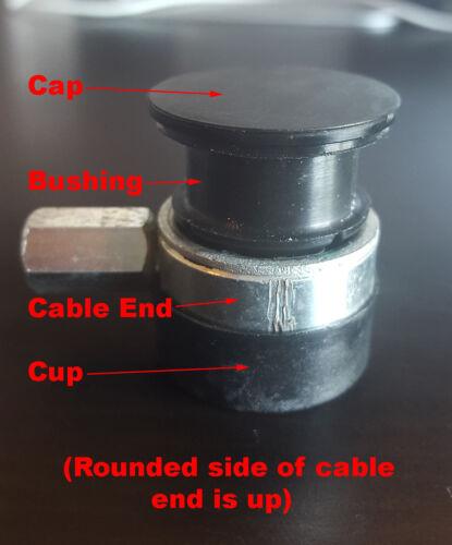 Manual Transmission shift linkage cable bushing for Mini Cooper
