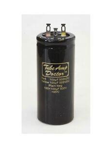 Tube-Amp-Doctor-Gold-Cap-Radial-Can-Type-Capacitor-Various-Values