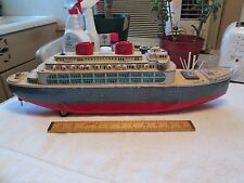 "Modern Toys (Japan) Tin Cruise Ship - 22""L - Battery Operated - VGC Circa 1960's"