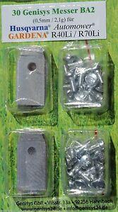 30x-Messer-amp-30-Schrauben-HUSQVARNA-Automower-220AC-230ACX-305-308-320-330X-BA2