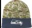 NFL-Seattle-Seahawks-New-Era-Digital-Camo-Knit-Beanie-Hat-Football-Hunting thumbnail 2