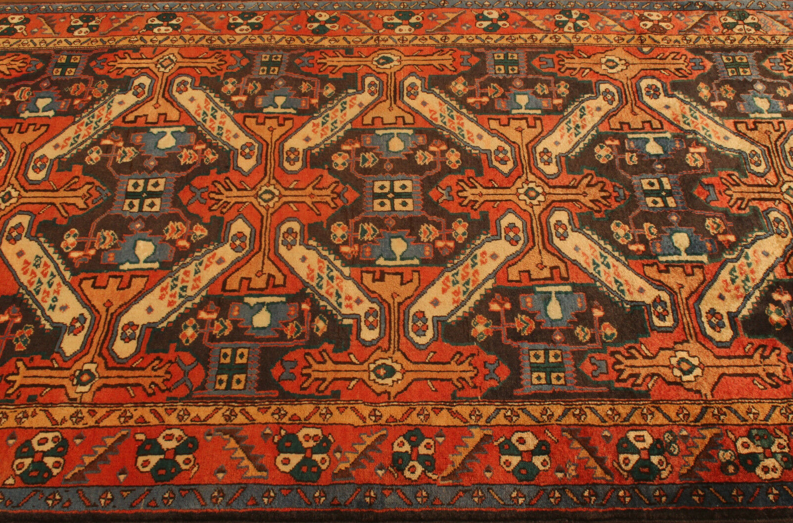 TAPPETO Orientale Vero Annodato Tapis persan alfiere alfiere alfiere 3907 (297 x 133) cm ca2dde