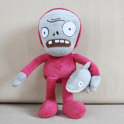30cm Plants vs Zombies PVZ Figures Plush Baby Staff Toy Stuffed Soft Dolls Gifts