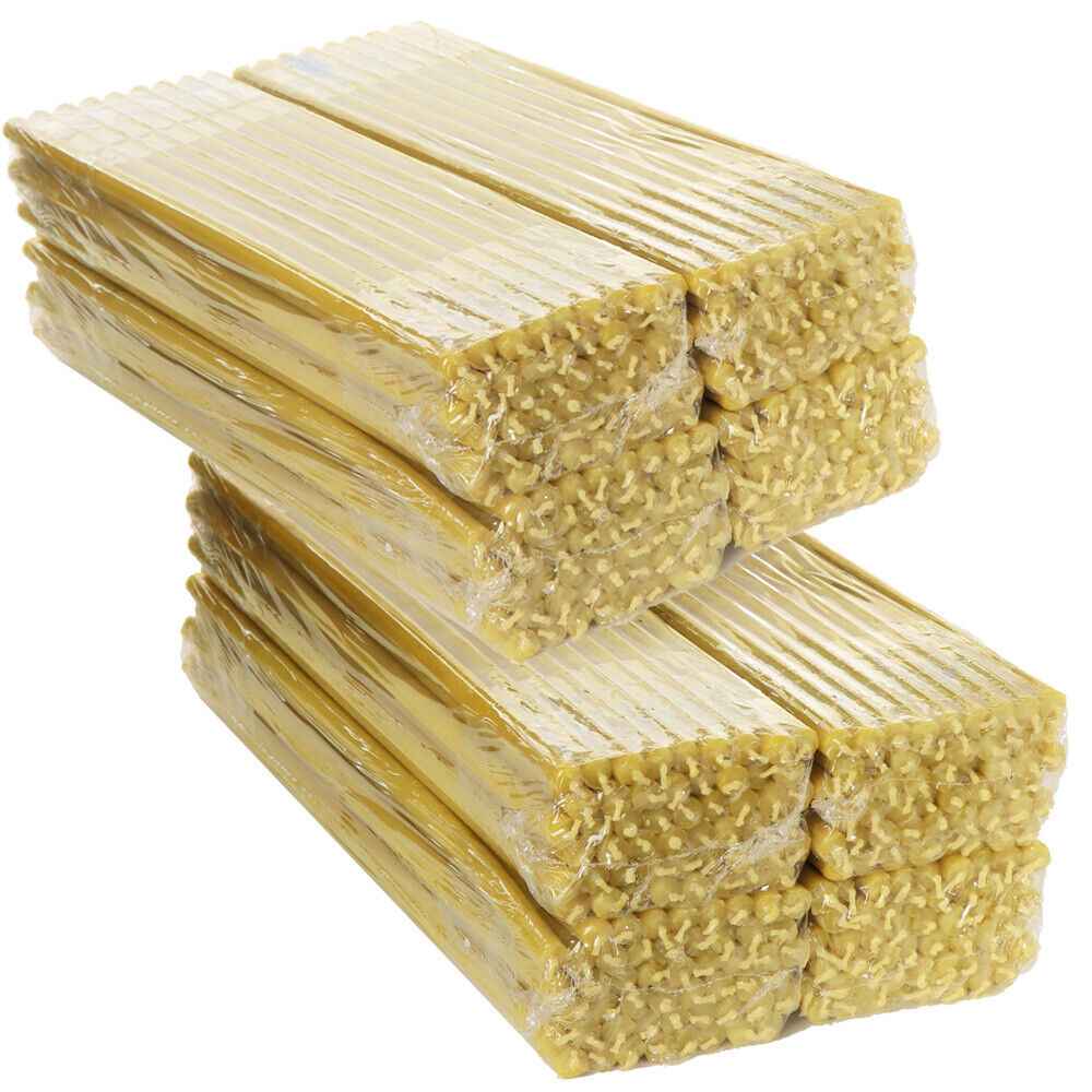 100% Bienenwachskerzen TOP Qualität Kerze tropffrei L 30cm Haus Kirche 39129