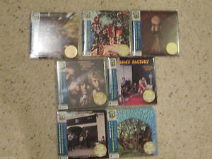 CREEDENCE-CLEARWATER-REVIVAL-COMPLETE-SET-OF-7-JAPAN-MINI-LP-SHM-CDS-CCR