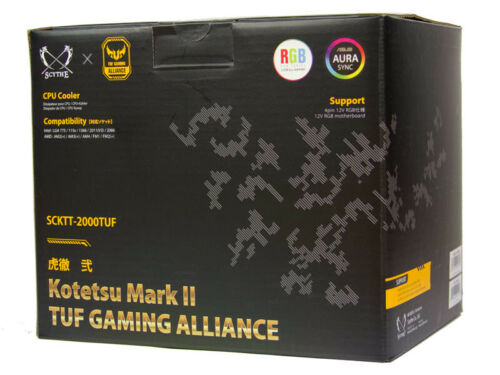 Scythe Kotetsu mark II TUFF Gaming Alliance CPU Processor Cooler
