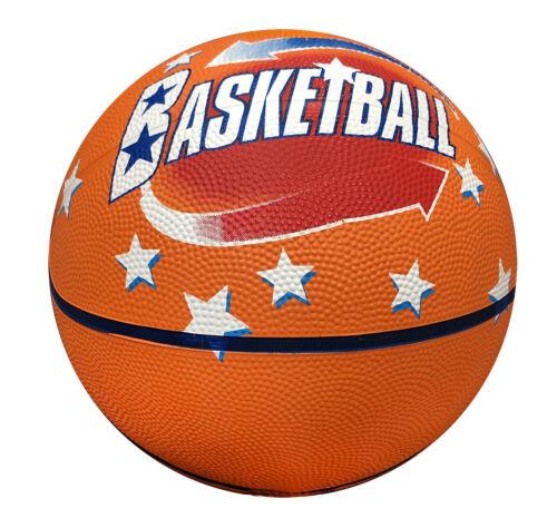 Knight Indoor Outdoor Orange Rubber Basketball Sport Ball