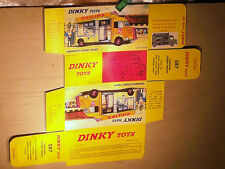 REPLIQUE  BOITE CITROEN TUB HY PHILIPS DINKY TOYS