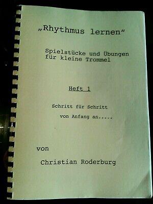 2019 Neuestes Design Snare Drums Im Rhythmus-system Takte Übungen Elemente Songs Christian Roderburg