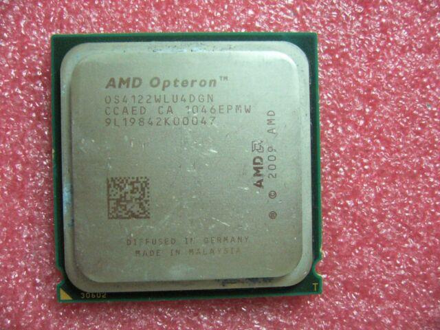 QTY 1x AMD Opteron 4122 2.2 GHz Quad-Core (OS4122WLU4DGN) CPU Socket C32