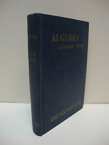 Algebra, A Senior Course By Petrie, Baker, Levitt & MacLean