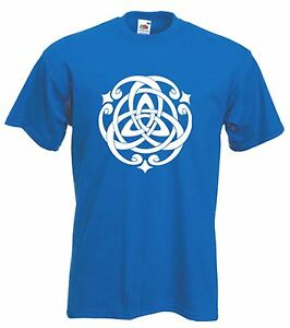 CELTIC-KNOT-T-SHIRT-Pagan-Druid-Wicca-Goth-Gothic-Choice-Of-Colours-FREE-P-amp-P